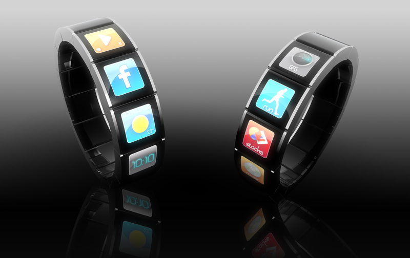 Montre-bracelet futuriste Watch The Future par F.Bertrand