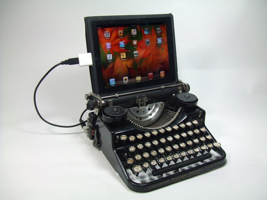 usb-typewriter-computer-keyboard