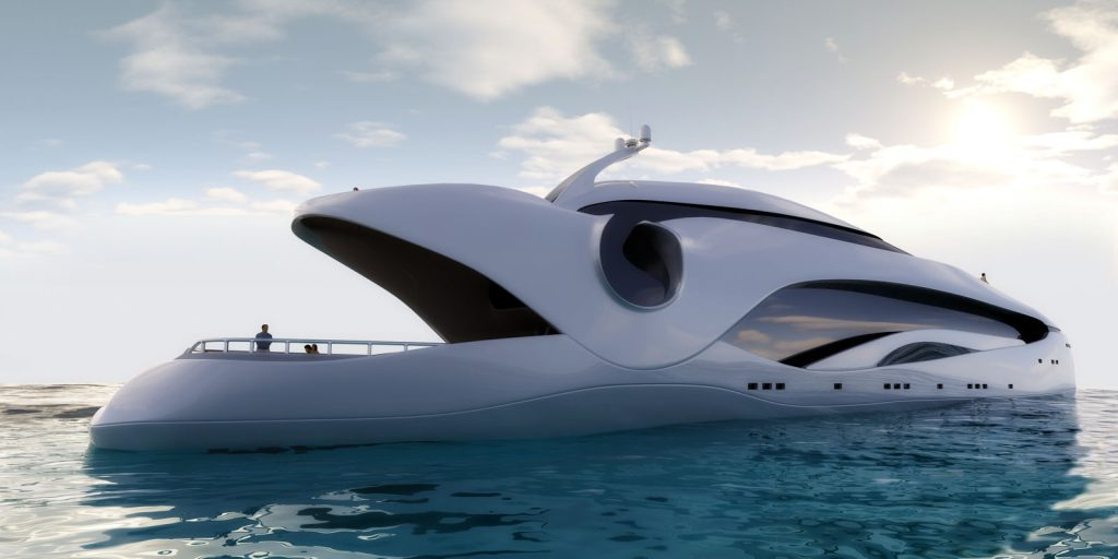 le super yacht oculus de schopfer