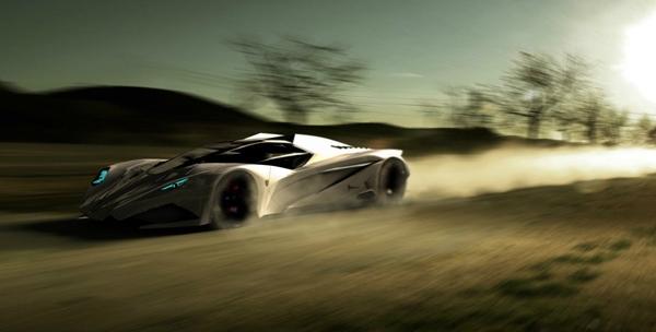 supercar futuriste