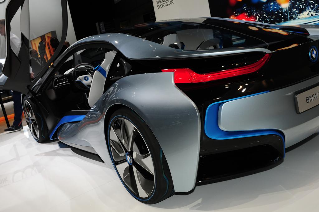 bmw électrique 2012