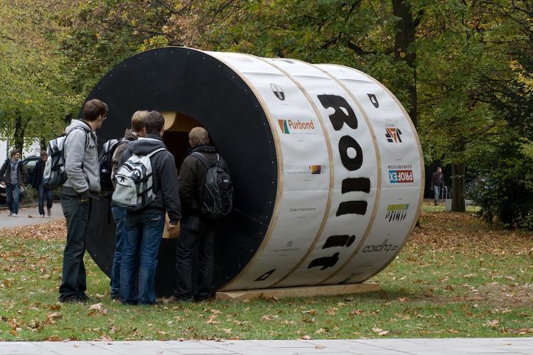 concept architectural de l' universite Karlsruhe