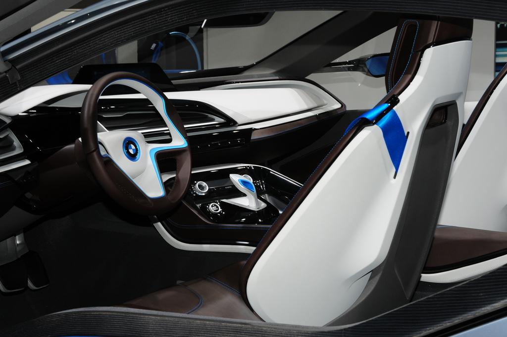 interieur concept car i8 par bmw