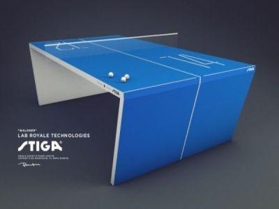 table de ping pong stiga waldner