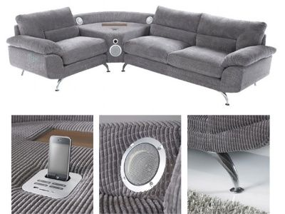 sound sofa le 1er canap avec home cin ma int gr mon coin design. Black Bedroom Furniture Sets. Home Design Ideas