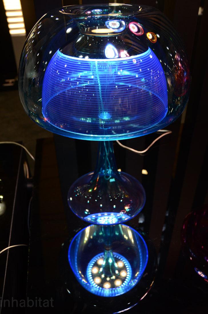 lampe qi design en forme de méduse