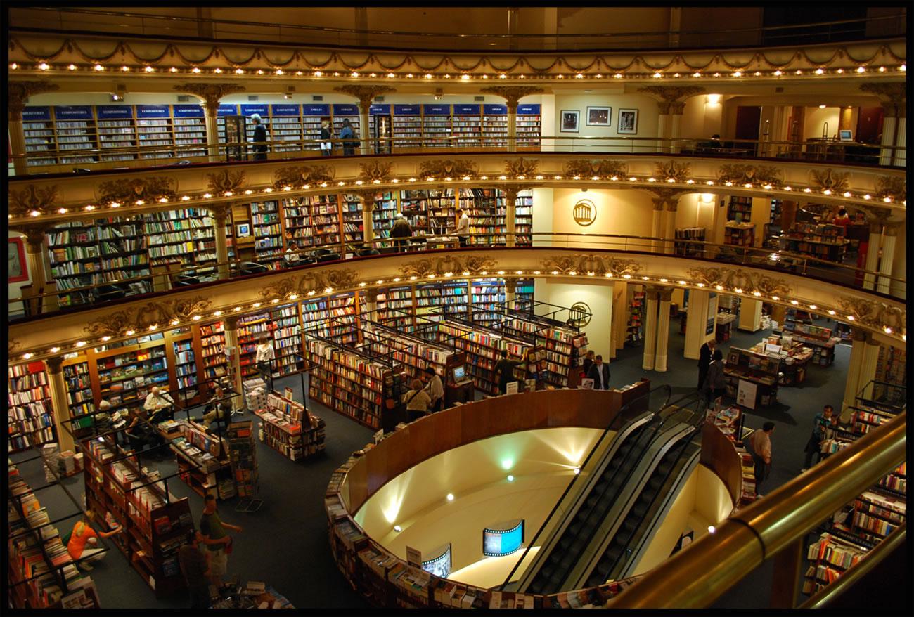 librairie ancien cinema Buenos Aires