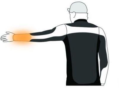 veste pour cycliste lumineuse équipée de leds par Douglas Schaller