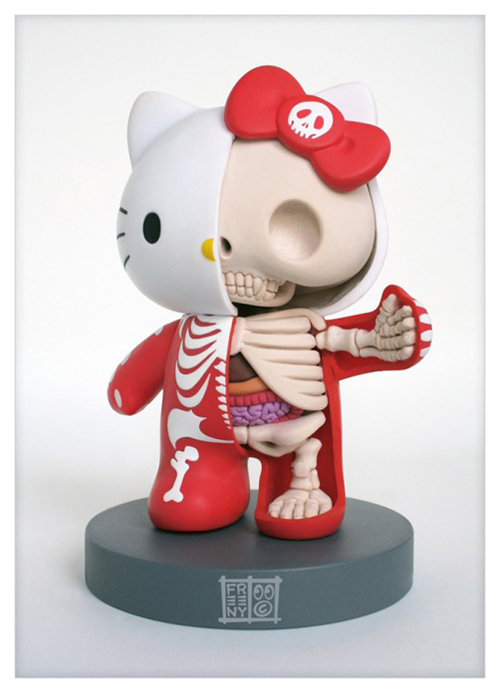 jason freeeny et scultpure de hello kitty