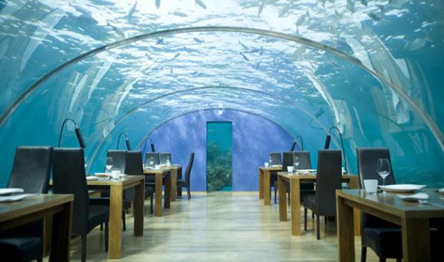 hotel design sous la mer