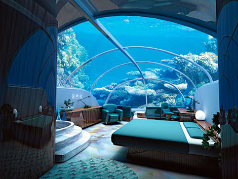 hotel poseidon undersea resort aux îles Fidji