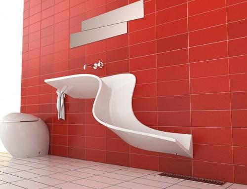 lavabo gouttiere