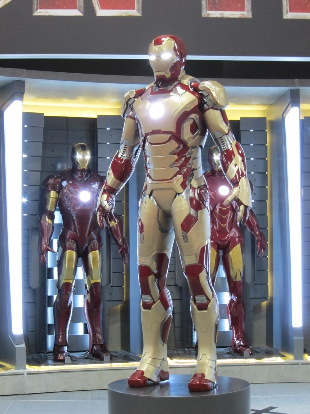 nouvelle armure mark iron man de Tony Stark