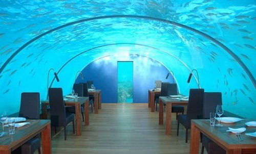 restaurant sous la mer