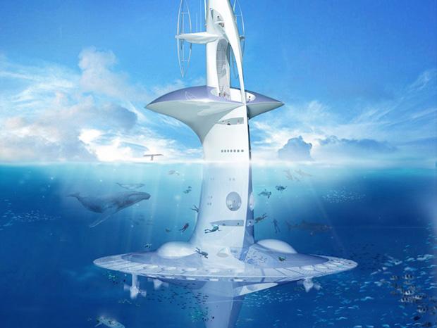seaorbiter un bateau vertical