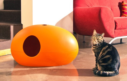 Une liti re pour chat novatrice et design mon coin - Litiere chat design ...