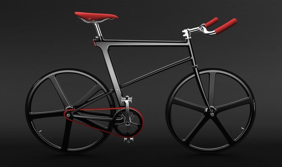 z-fixie concept bike, un vélo fixie futuriste super stylé