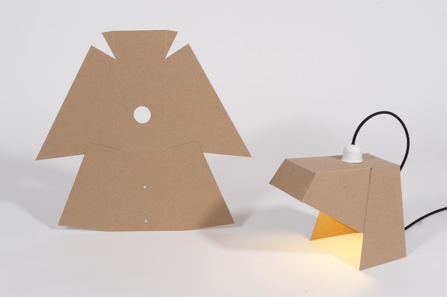 Des lampes en carton à monter soi même Mon coin Design