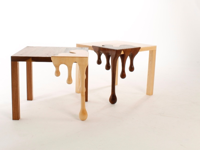 table en bois design