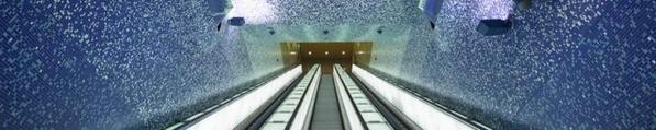 metro de naples par Oscar Tusques Blanca