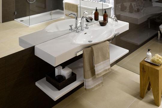 Une salle de bain design sinon rien mon coin design for Meuble salle de bain design luxe