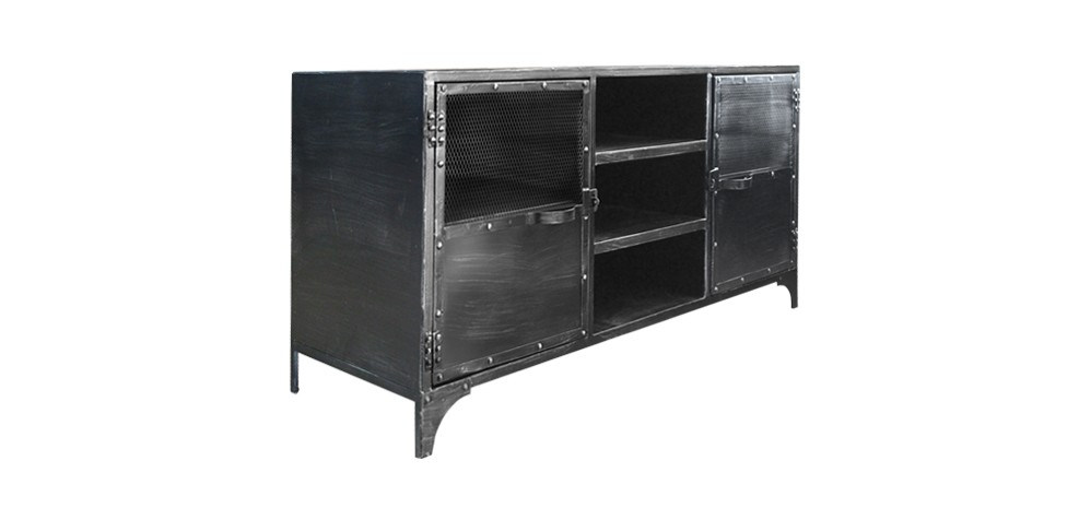 meuble industriel pas cher. Black Bedroom Furniture Sets. Home Design Ideas